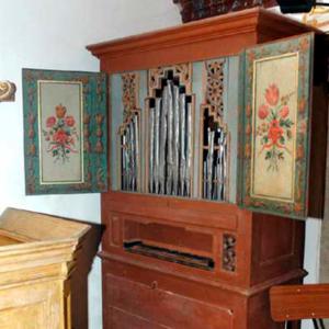Órgão da Igreja de Aldeia Galega da Merceana