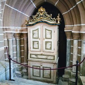 Órgão da Sé de Évora, transepto do lado do Evangelho