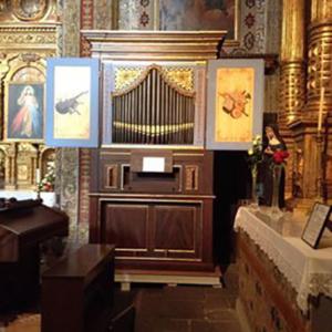 Órgão de coro da Igreja do Colégio