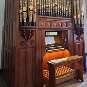 Órgão do coro alto da Igreja das Domínicas