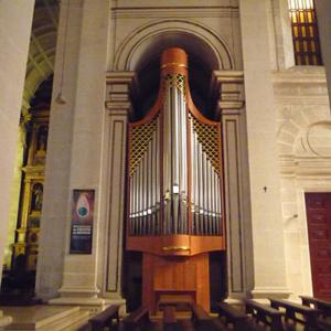 Órgão moderno da Sé de Leiria