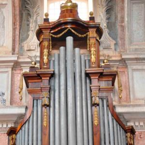 Órgão da capela de Santa Bárbara, Basílica de Mafra