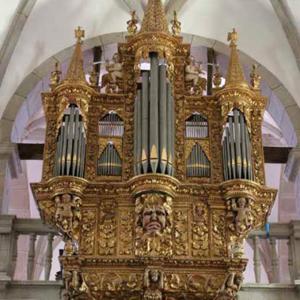 Órgão histórico da concatedral de Miranda do Douro