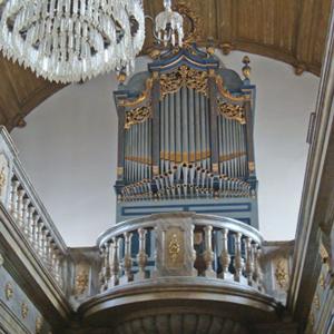 Órgão de tubos do santuário da Nazaré