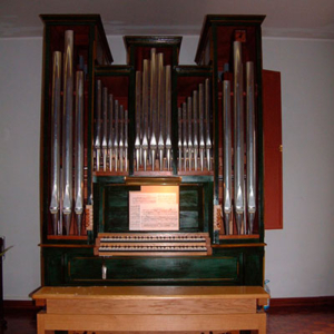 Órgão da Escola de Música de Nossa Senhora do Cabo