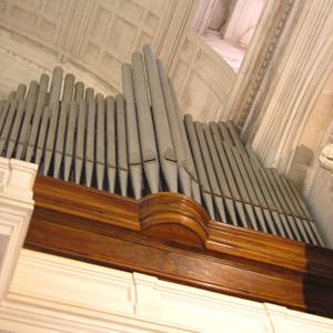 Órgão antigo da Basílica de Fátima