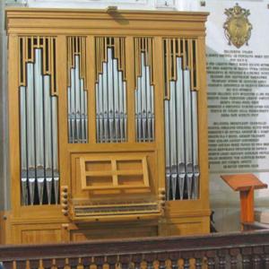 Órgão positivo da Basílica de Fátima
