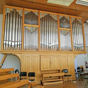 Órgão da colunata Norte