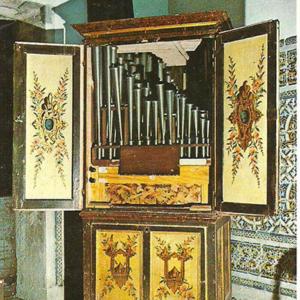 Órgão positivo da Igreja do Mosteiro de Lorvão