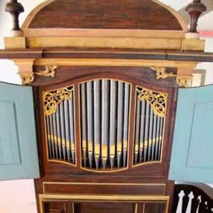 Órgão de tubos da igreja Matrizde São Pedro