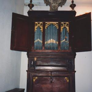 Órgão de tubos da igreja de Alqueidão da Serra