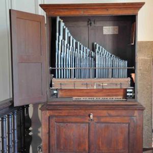 Órgão Filipe da Cunha da Igreja matriz de Belas