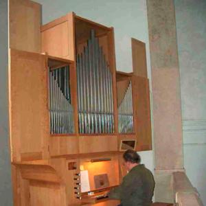 Órgão da igreja matriz de Sobral de Monte Agraço